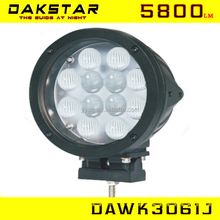 DAKSTAR high quality wholesale 5800lumens work light led for Car, Truck,SUV,ATV,Machinery,Boat work light