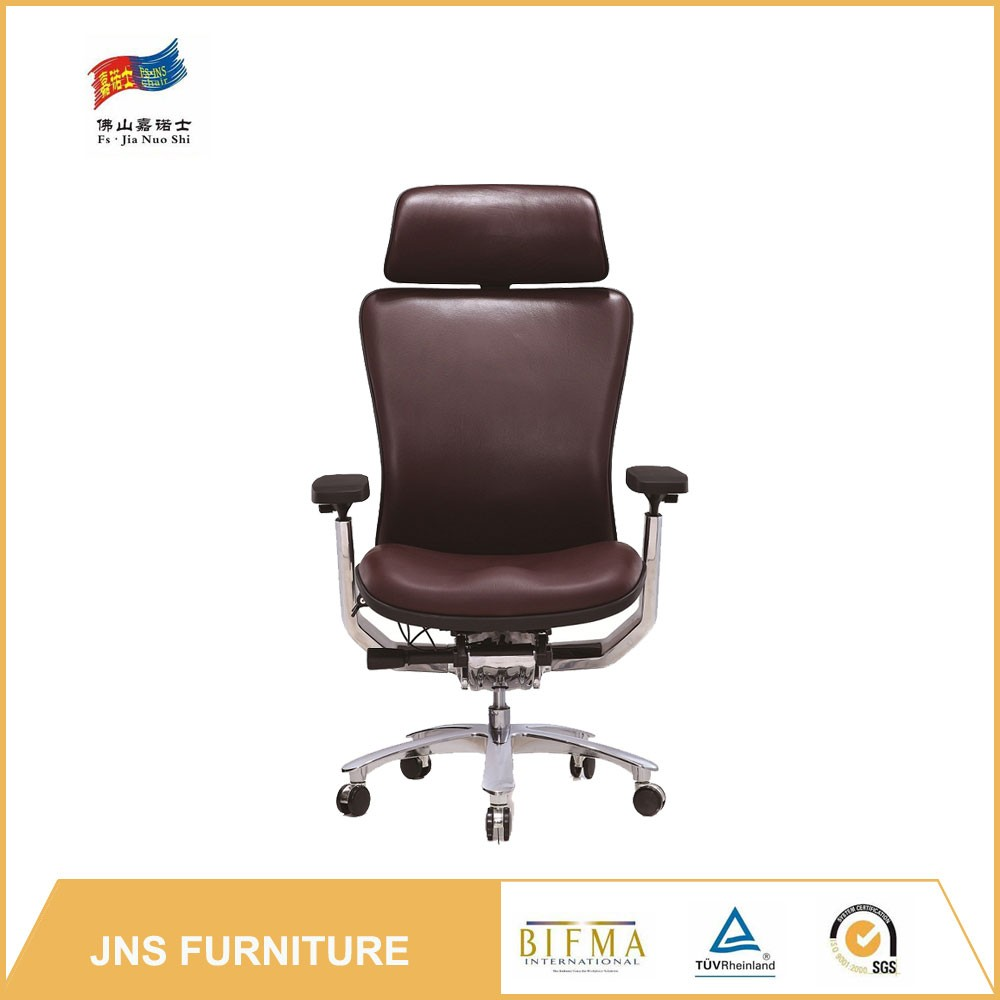 Genuine leather staples HS code recline office chair sale
