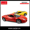 Rastar kids toys high speed 1:14 Ferrari wholesale electric rc car
