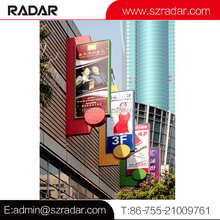 Customized shopping center 3D led outdoor directional sign directory signage