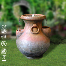high quality jar water fountain for garden deco