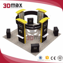 3D MAX Exhibition Display Booth Contractor for Trade Show
