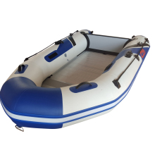 CE Cerificated China Aluminum Floor White Inflatable Boats for Adults