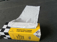 clear plastic car seat covers
