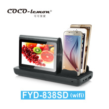 WIFI Function Android System 7 Inch LCD Touch Screen Table Advertising Media Player