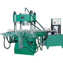 850 manual interlock brick machine with high-pressure press 300T