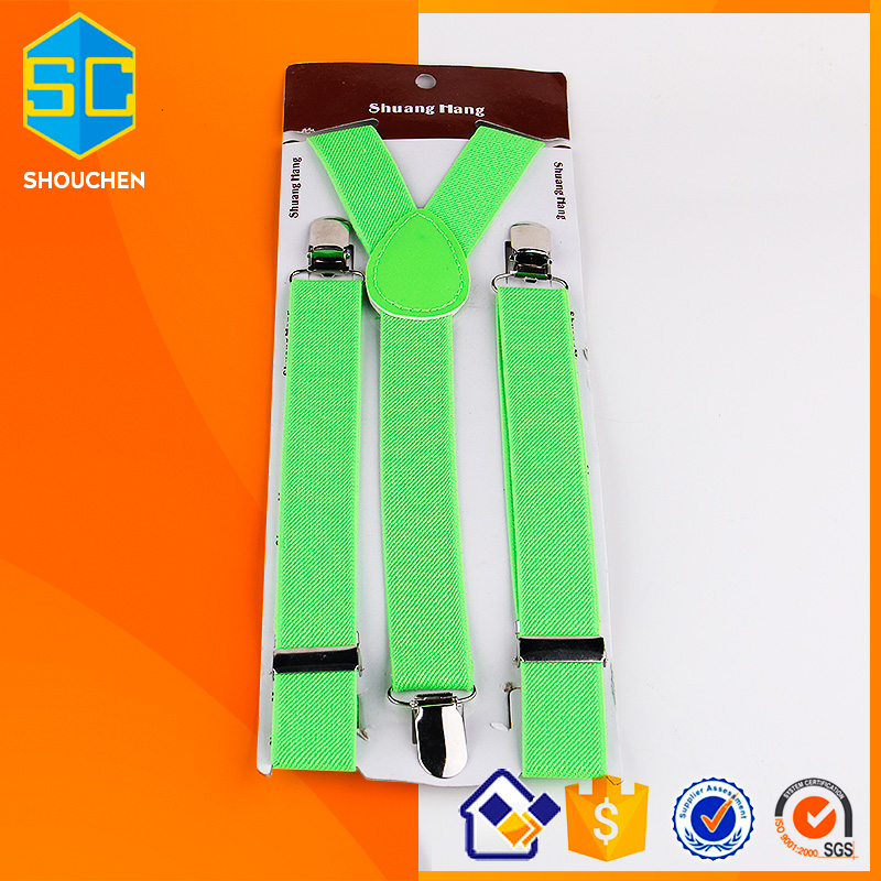 2017 Fashion Children ligh color suspender