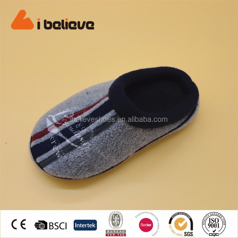 Indoor warm shoes manufacturing factory safe children slipper