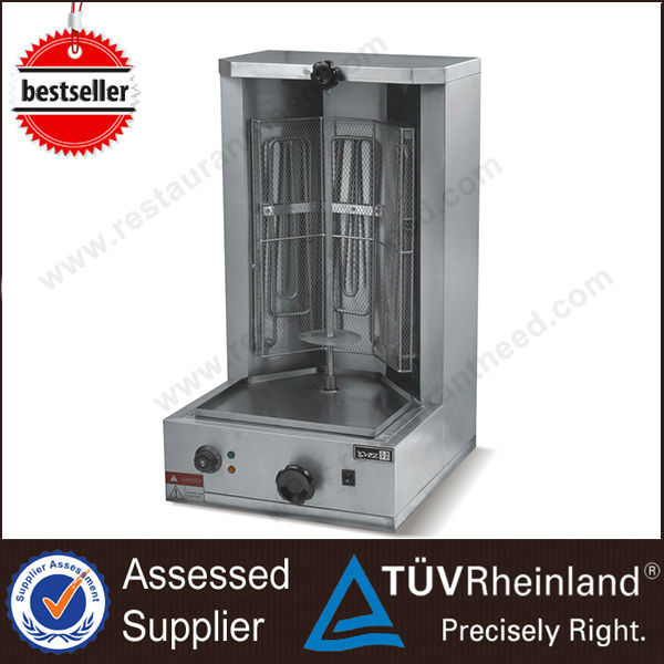 2016 Commercial Kitchen Equipment Electric Frozen Kebab burners
