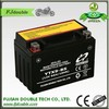 rechargeable maintenance free good price 12v 9ah high rate battery for motorcycle