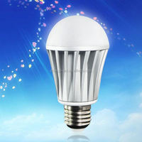 wireless IOS &Android 2.4G RF remote smart bulb wifi control vtac led red type six led bulb