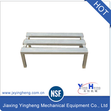 NSF Approval China manufacturer kitchen aluminum dunnage storage rack