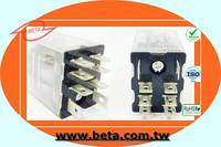 large capacity 15a 12v 8pin OEM industrial miniature relay