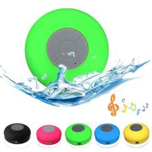 Mini wireless waterproof bluetooth speaker Stereo Music Sound With Led light BTS-06