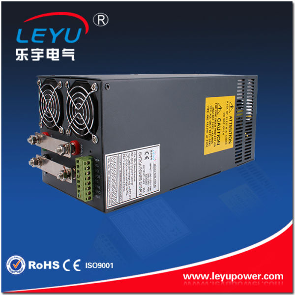 1500w power supply with parallel function 32A constant voltage overload protection 48vdc led strip SCN-1500-48 smps