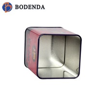 high quality rectangle pen holder tin box