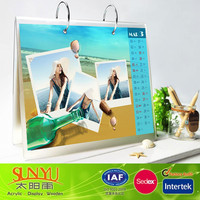 acrylic desktop Calendar Shelf ,new acrylic calendar design for 2014
