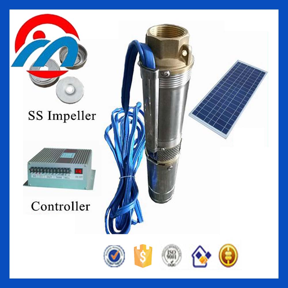 12v 24v dc submersible pump/solar borehole water pumps