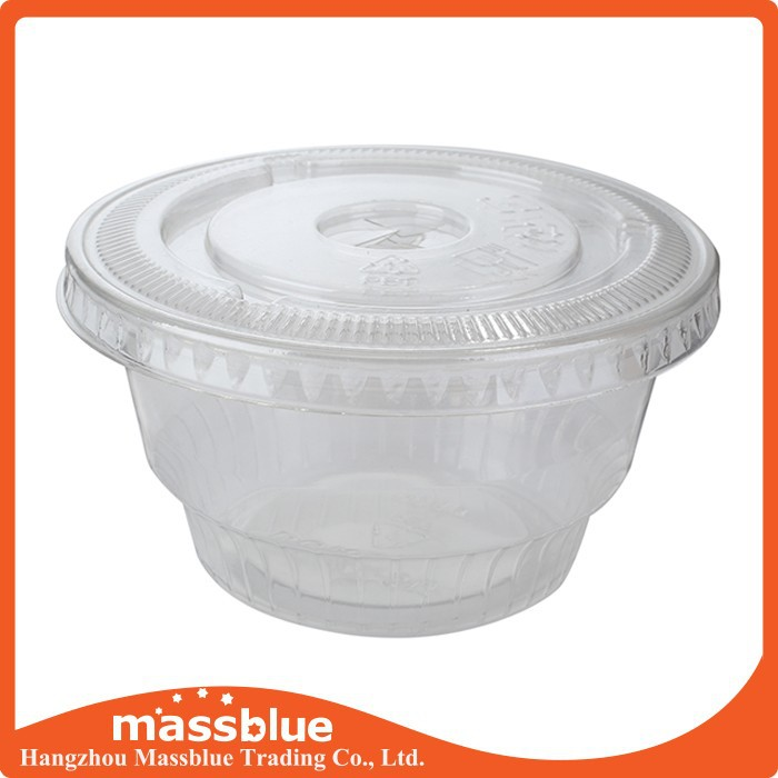 Sell Well Disposable Custom Plastic Food Container with Lid