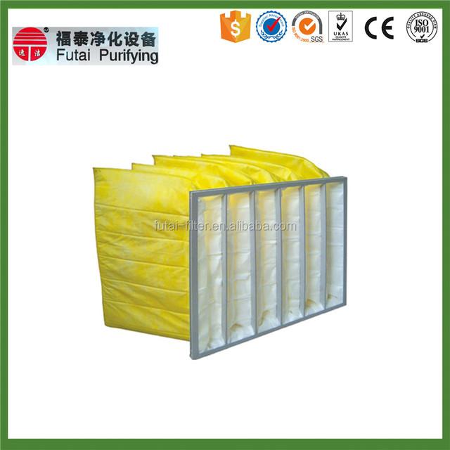 discharged paper frame adjustable structure air filter bag