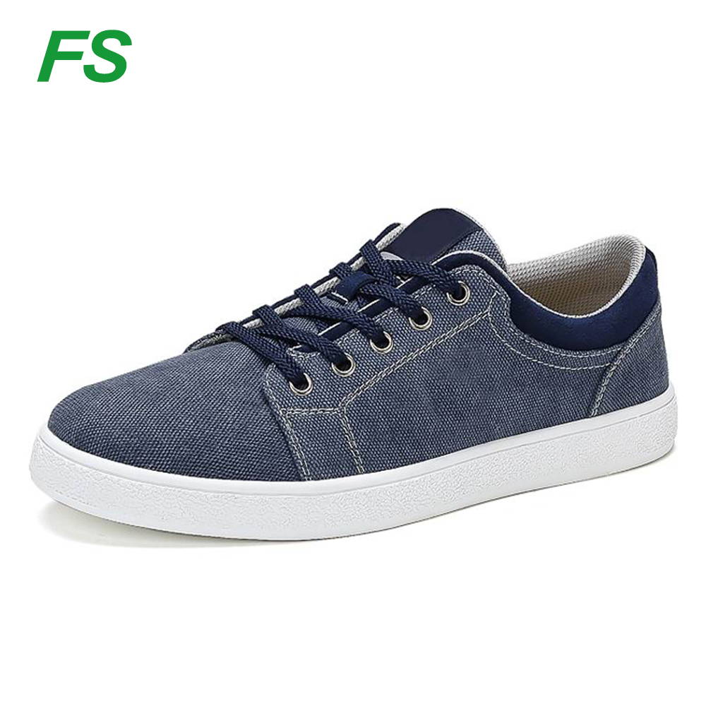 New model fashion mens jeans canvas shoes