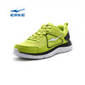 wholesale mesh upper lace up breathable ERKE running shoes for man