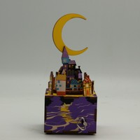 DIY Wooden Wind Up Music Box Wholesale Kids Educational Toys
