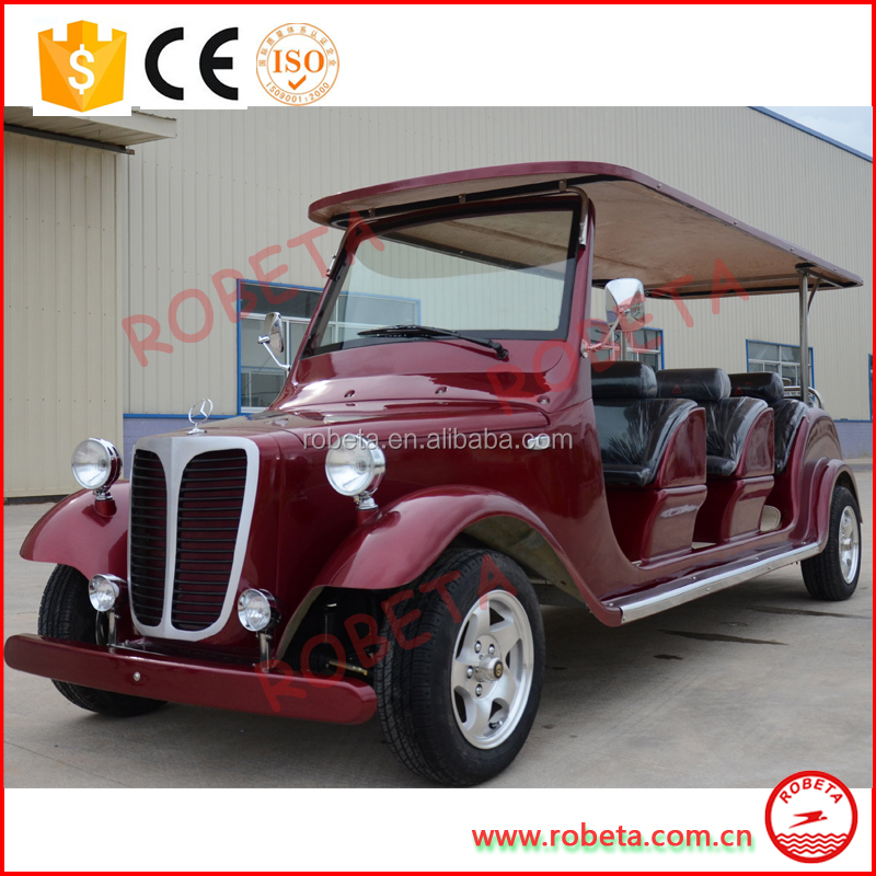 golf courses upscale clubs use 4 wheel high quality CE classic electric car