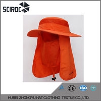 High Quality Hat With Neck Cover for women Sun Visor Hat