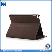 Hot Sale Smart Leather Cover Retro Style Leather Case for iPad Air 2