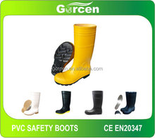 PVC Safety Boots Steel toe boots work boots PPE