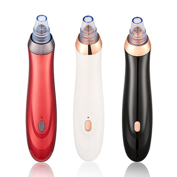 High Quality Rechargeable Blackhead Remover Vacuum Suction Facial Cleansing Suction Kit Machine