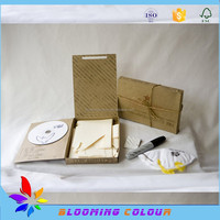 Qingdao manufacturer of CD packaging boxes/high quality corrugated paper disc packing box
