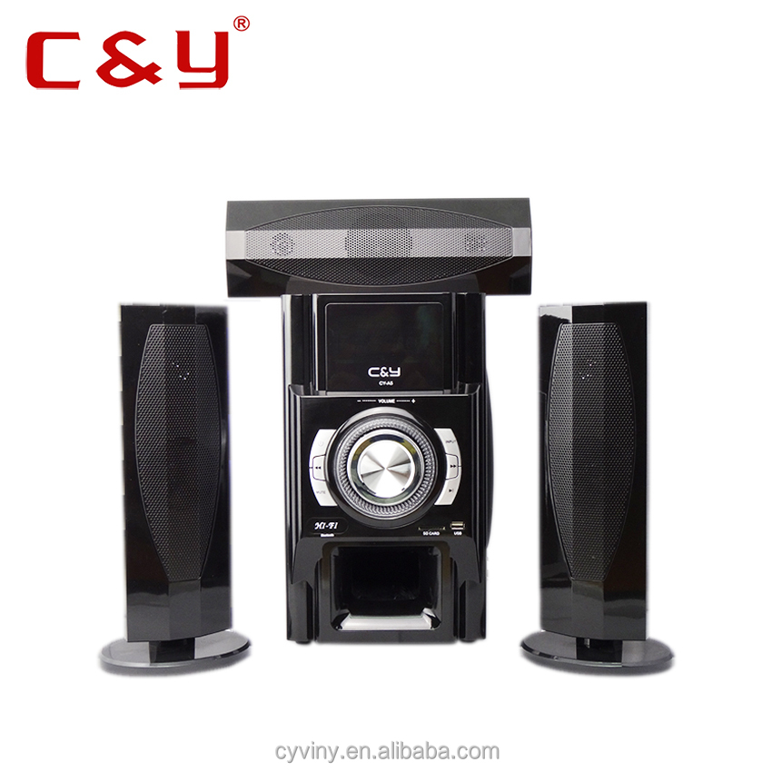 Hot sale 3.1 powerful FM Radio multimedia subwoofer speaker system