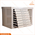 Multi Layer Push-Pull Drawer Cabinet Tile Sample Display For Stone