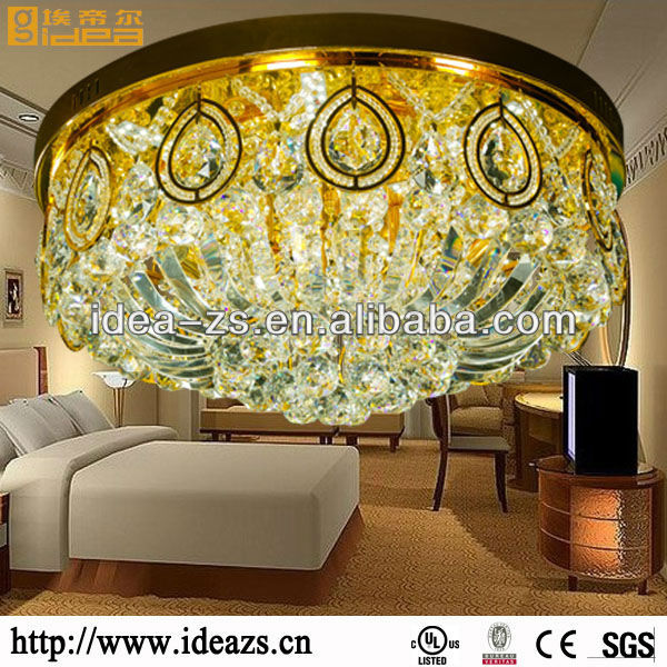 modern contemporary ceiling lamp modular beads china luster crystal lamp