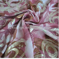 Wholesale Printed Silk Chiffon Fabric For Lady Garment