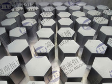 Hexagon Silicon carbide SiC plate tiles for bulletproof application