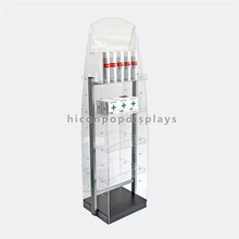 Custom Free Standing Advertising Display For Pharmacy, Acrylic Community Pharmacy Display Shelves