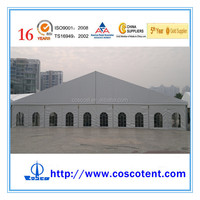 COSCO tent shelter in China