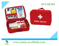 medical handle first aid kit bag ,waterproof first aid kit bag with two insert pocket