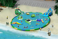 Animation Water World water park equipment large inflatable swimming pool
