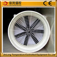 Best sale!JINLONG Used Chemical Factory FRP Fiberglass Exhaust Fan Venturi/Fans Cooling System