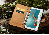 Luxury phone case wallet belt clip case for samsung galaxy note 4