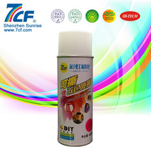 400ml Blaze Yellow Rubber Coating Spray For Car