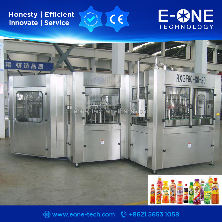 Small Filling Machine Water Juice Production Line yeast production line product line filling example