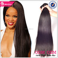 Hot selling grade 8A machine weft real 100% virgin brazilian hair extension