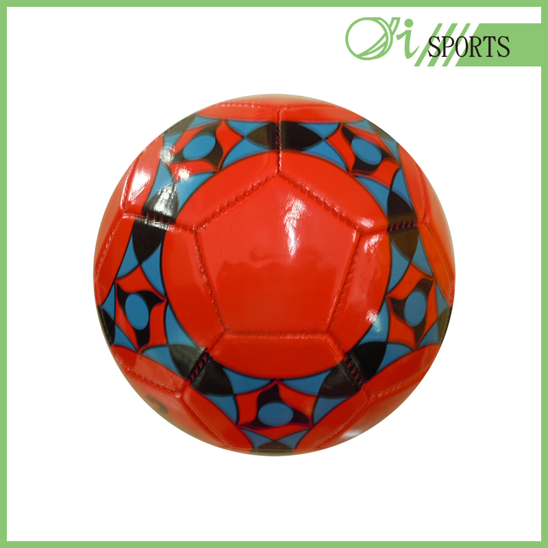 promotional PVC machine stiched soccer ball