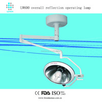 Halogen Bubl Operation shadowless lamp LW600 Halogen Surgical Lamp