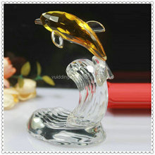 Crystal Dolphin Decorative Animal Figurine For Wedding Centerpieces